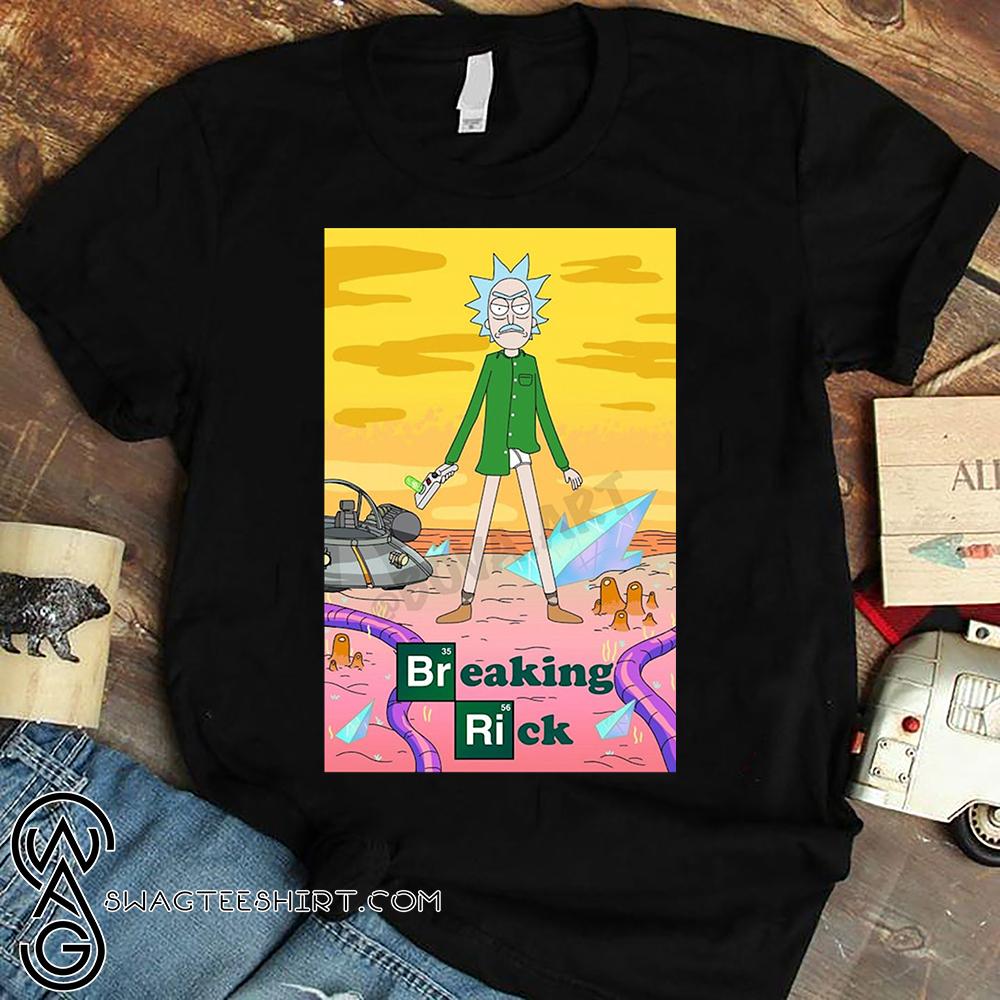Uncle Rick Breaking Rick Shirt - maria
