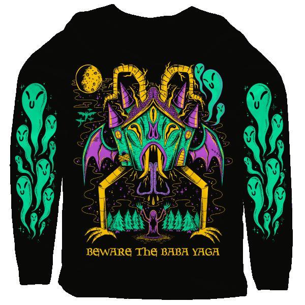 Beware the baba yaga 3d sweatshirt - maria