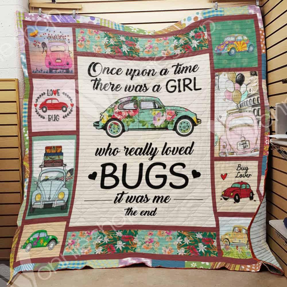 Bug car once upon a time there was a girl blanket - maria