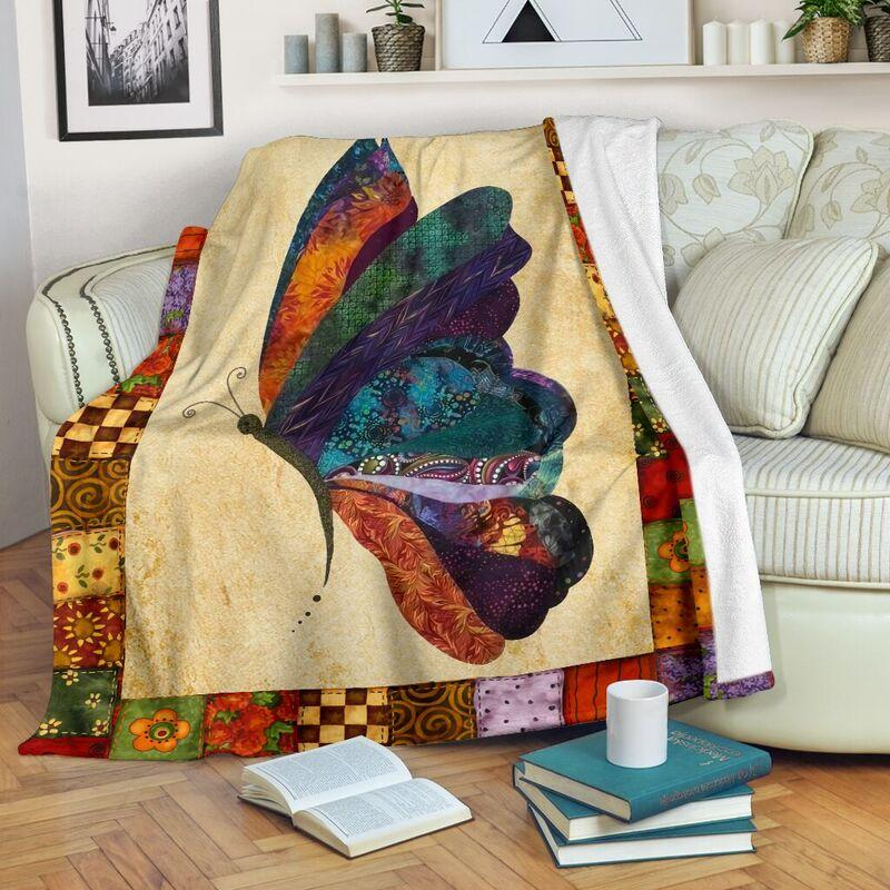 Butterfly blanket - maria