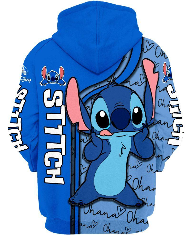 Disney lilo and stitch 3d hoodie 1- maria