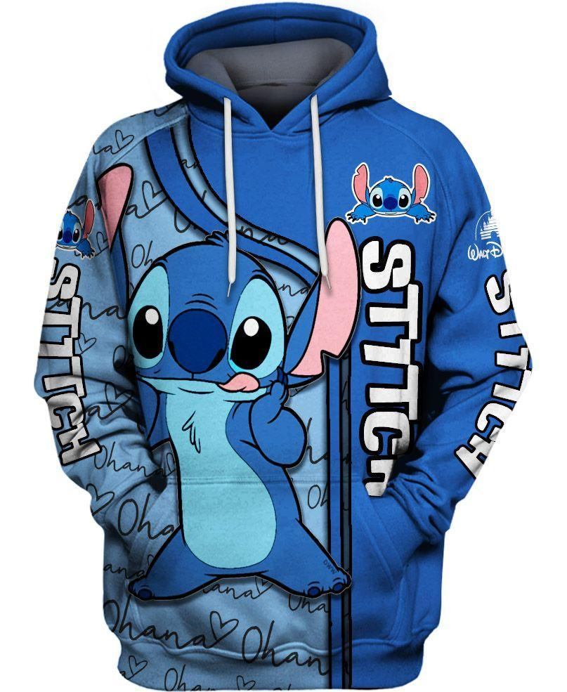 Disney lilo and stitch 3d hoodie - maria