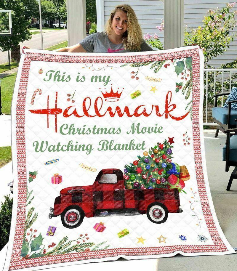 Hallmark christmas movie blanket - maria