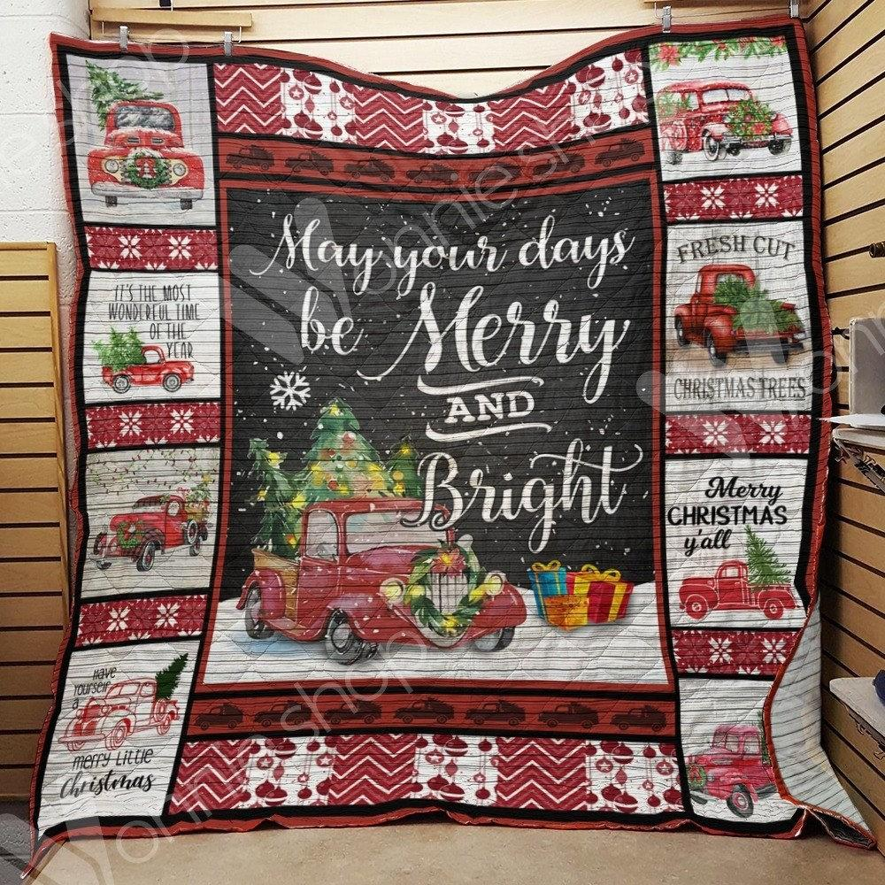 Hallmark christmas movie may your days be merry and bright quilt - maria