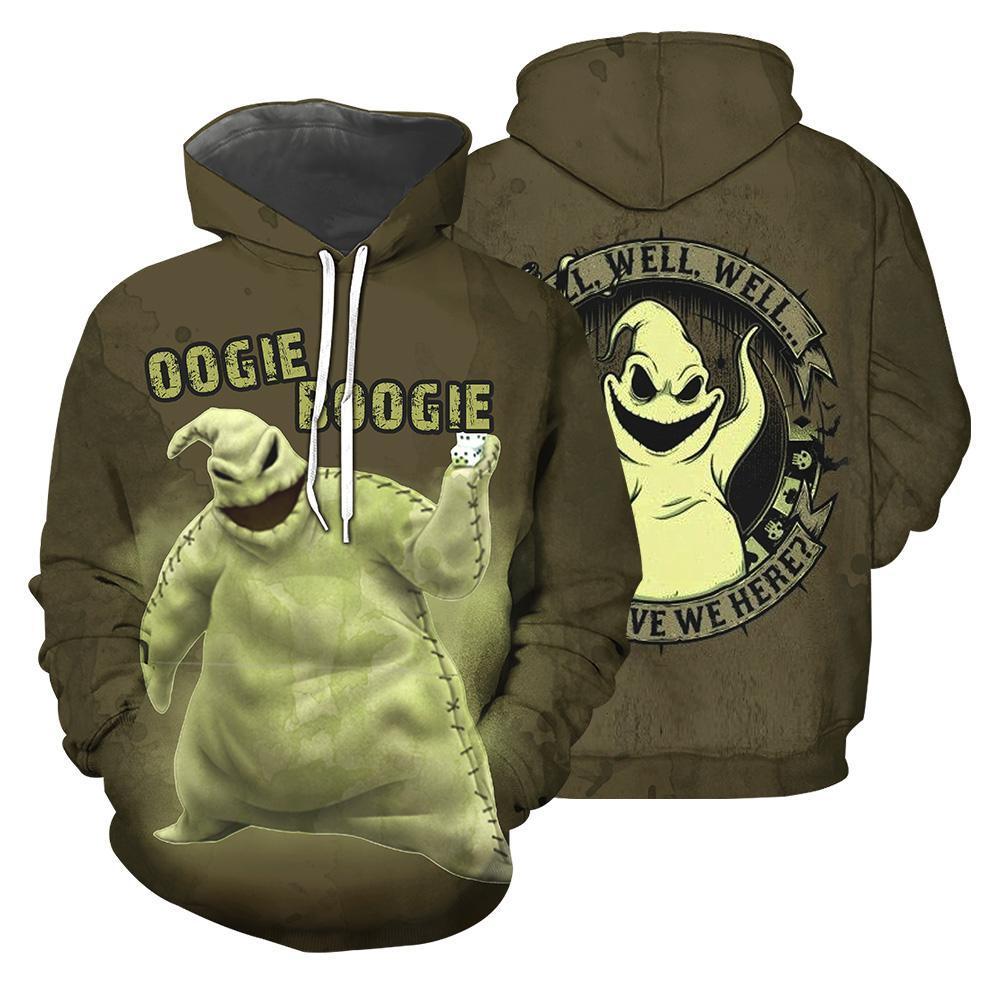 Halloween oogie boogie 3d hoodie - maria