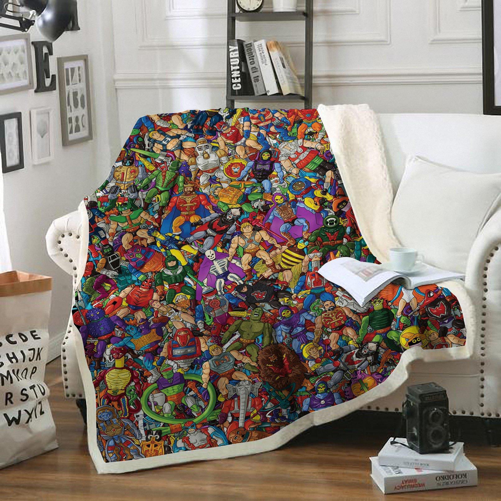 He-Man blanket - maria