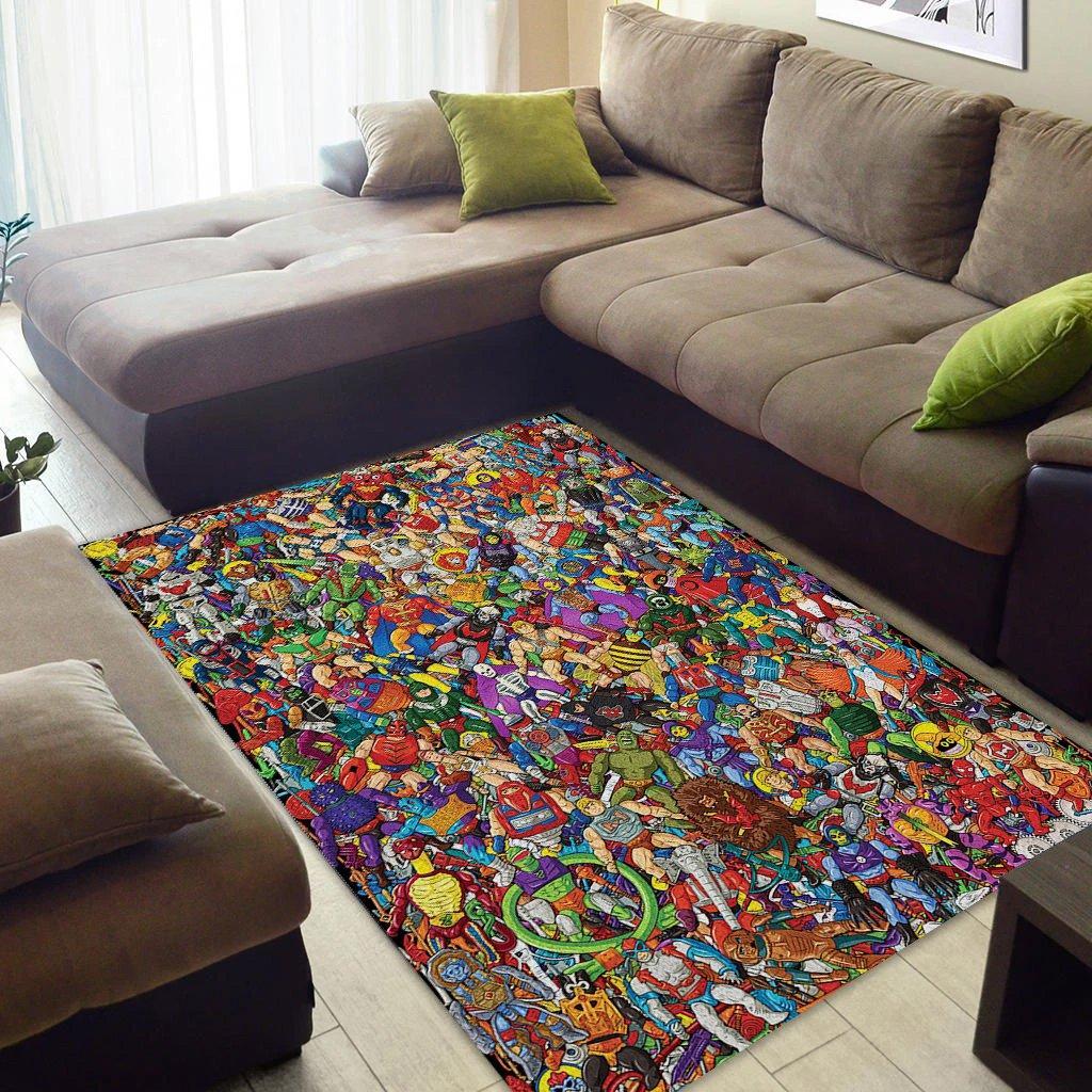He-man 3d area rug - maria