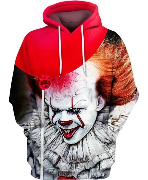 IT Pennywise hoodie 3d - LIMITED BBS
