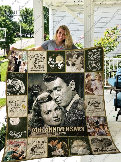 It's a Wonderful Life 74th Anniversary Quilt - LIMITED EDITION BBS