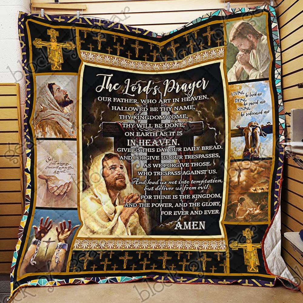 The Lord's prayer quilt - maria