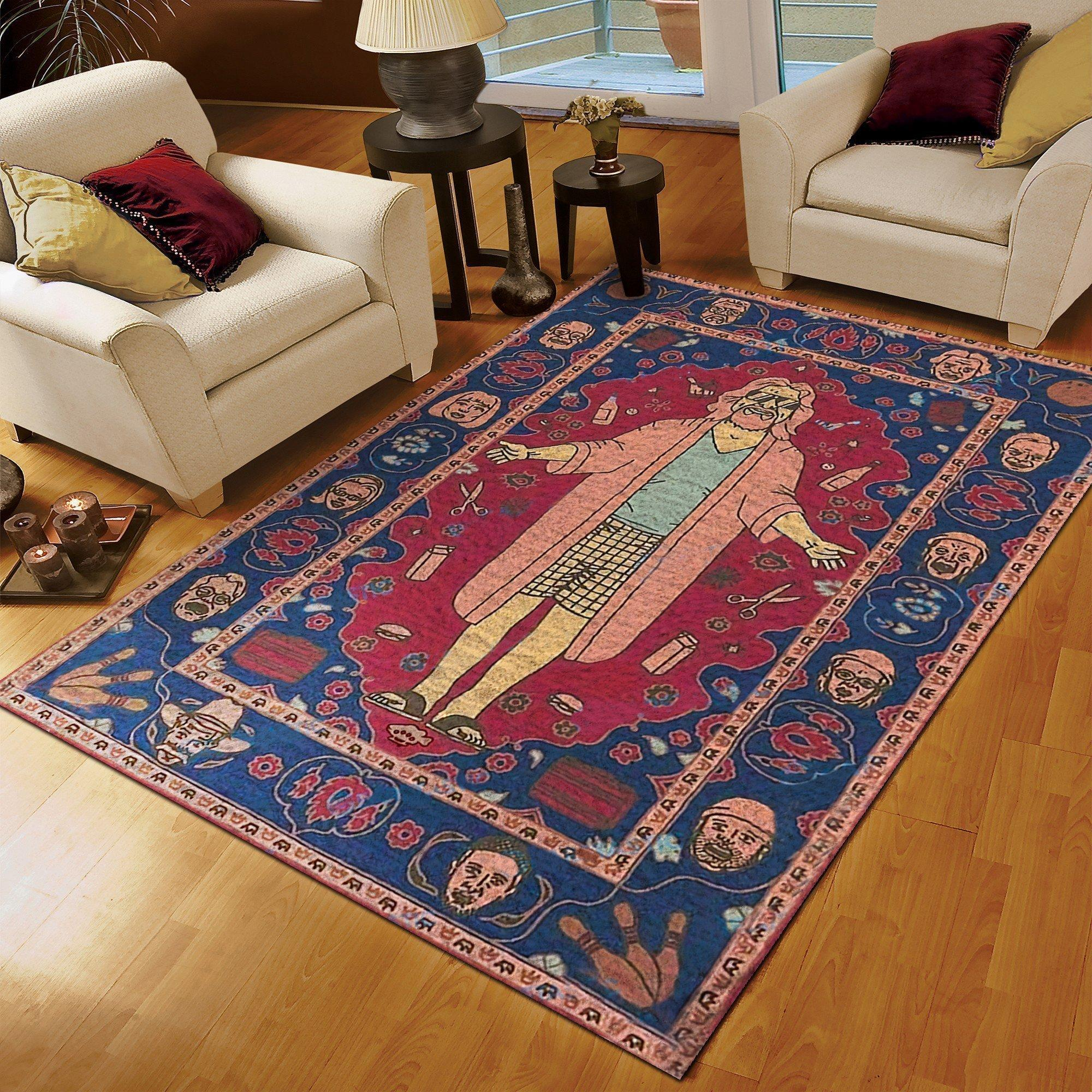 The big lebowski rug - maria