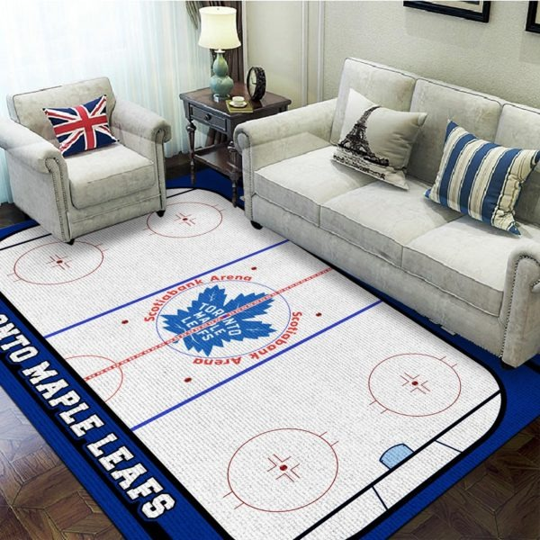 Toronto maple leafs scotiabank arena rug - LIMITED EDITION BBS