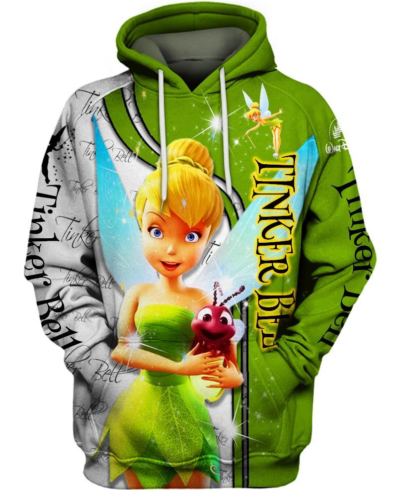 Walt disney tinker bell 3d hoodie - maria