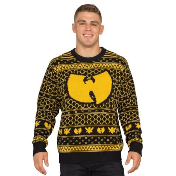 Wu-tang clan killer bees ugly christmas sweater - front