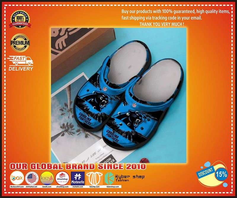 Carolina panthers crocband croc shoes - LIMITED EDITION