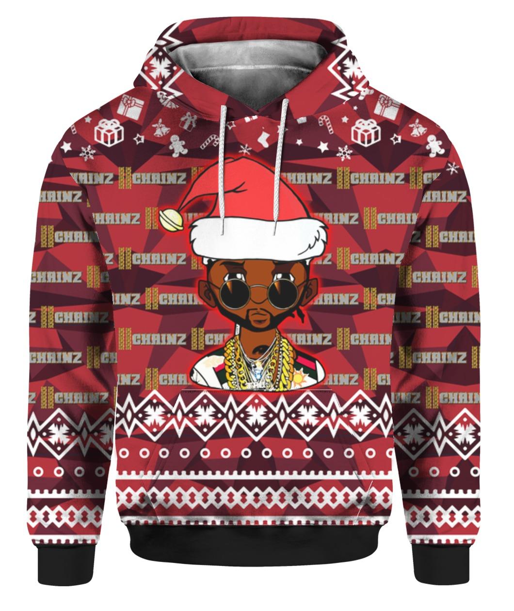 Christmas 2 chainz aka tity boi santa all over print shirt - maria