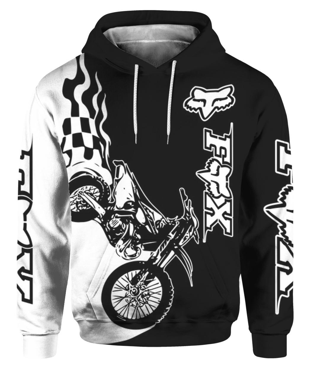racing all over print hoodie - maria