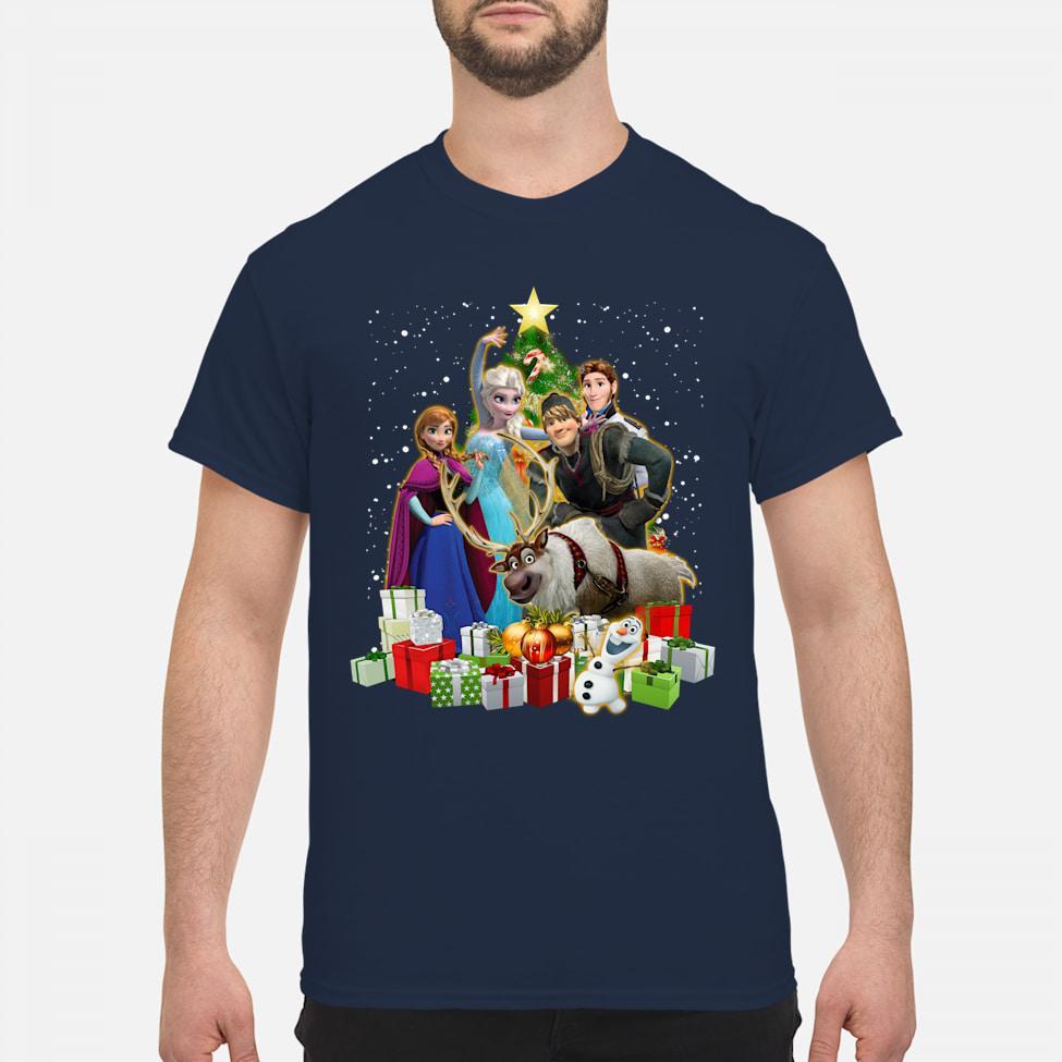 Disney Frozen Characters Merry Christmas shirt