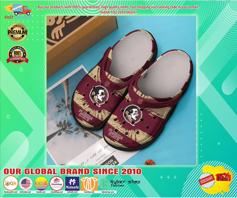 Florida State Seminoles football croc shoes - LIMITED EDITION