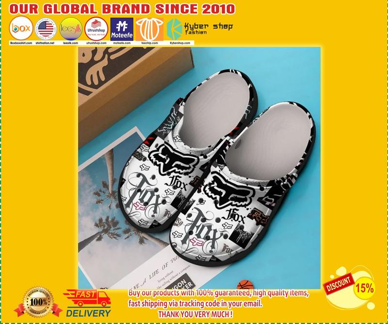 Fox racing crocband croc shoes - LIMITED EDITION