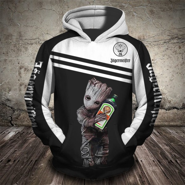 Groot jager 3d hoodie - LIMITED EDITION BBS