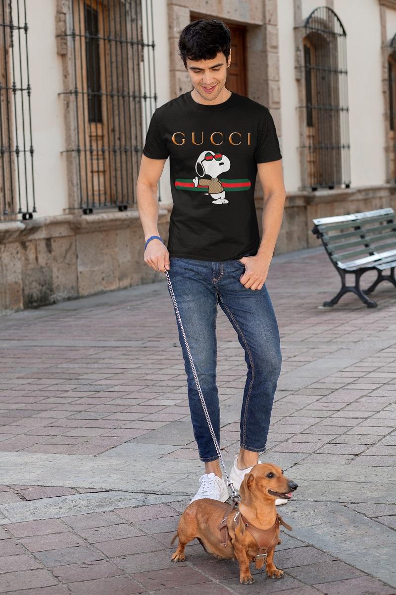 Gucci Snoopy shirt