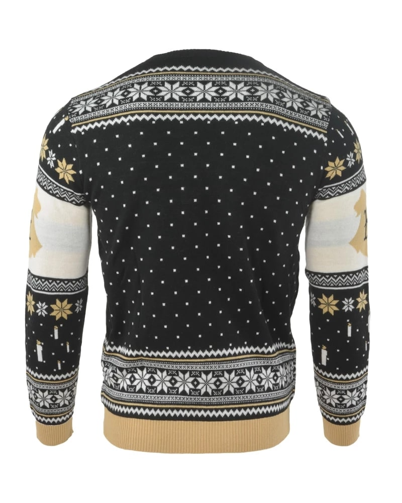 Harry potter hogwarts castle full printing ugly christmas sweater - maria