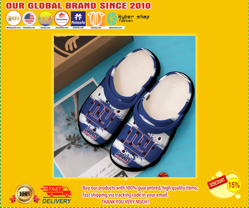 New York Giants crocband croc shoes - LIMITED EDITION