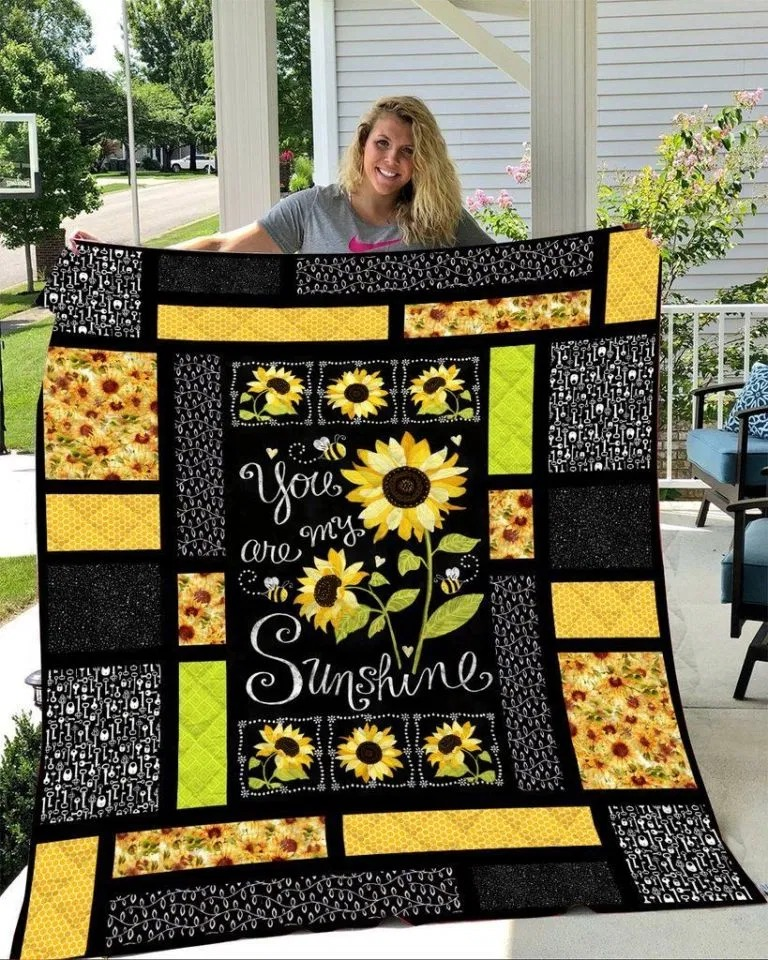 Sunflower You are my sunshine quilt- LIMITED EDITION BBS