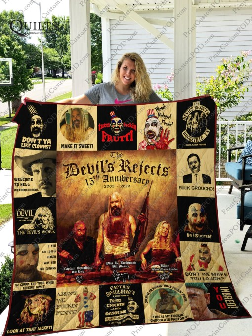 The devil's reject 15th anniversary quilt - maria
