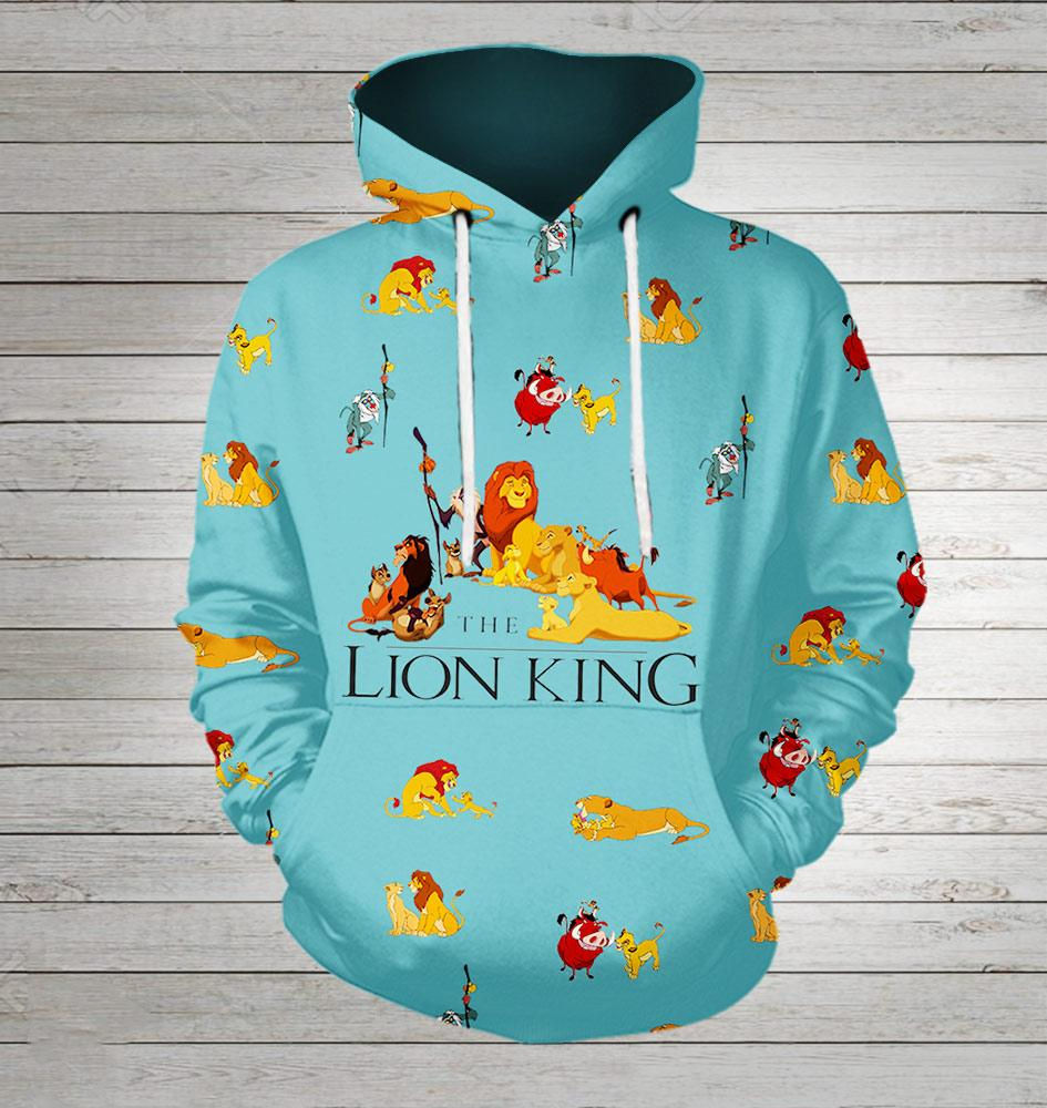 The lion king all over printed shirt - maria