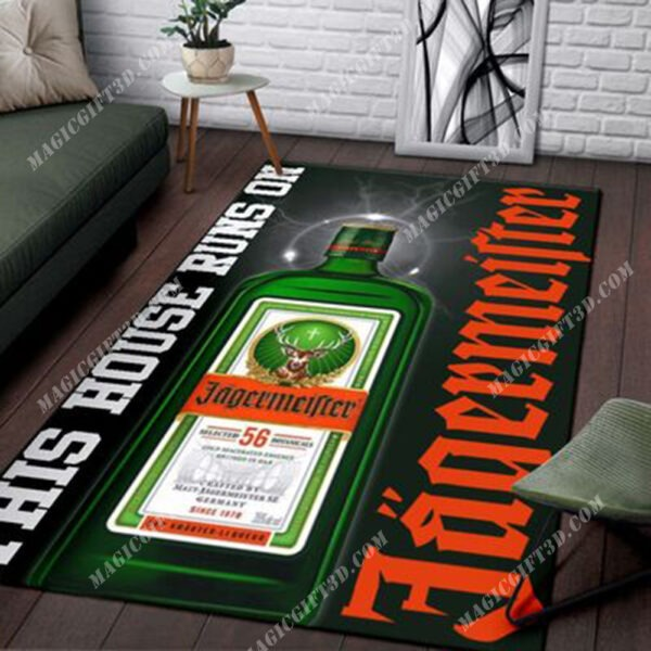 This house runs on Jagermeister rug - LIMITED EDITION BBS