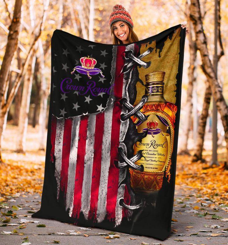 American Flag Blanket - mytea