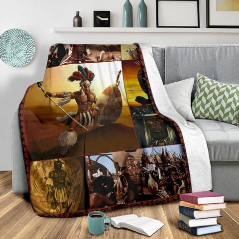 African culture blanket - maria