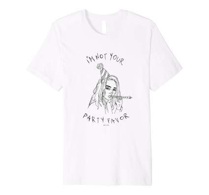 Billie Eilish Official I'm Not Your Party Favor Premium shirt