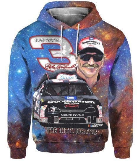 Dale Earnhardt The Intimidator 3D Hoodie and Sweatshirt - hothot031219