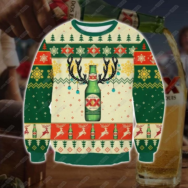 Dos Equis Beer Full Printing Ugly Christmas Sweater