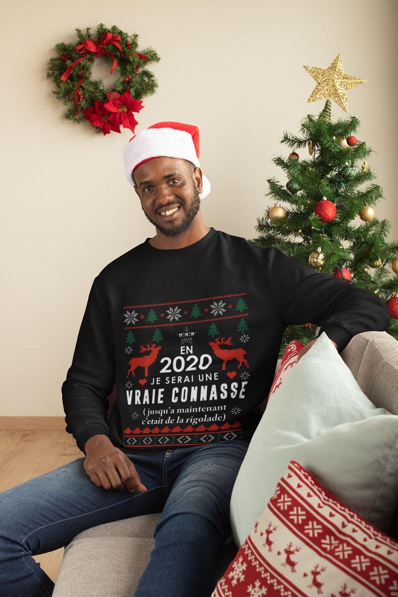 En 2020 je serai une Vraie Connasse ugly Christmas shirt, hoodie, tank top - pdn