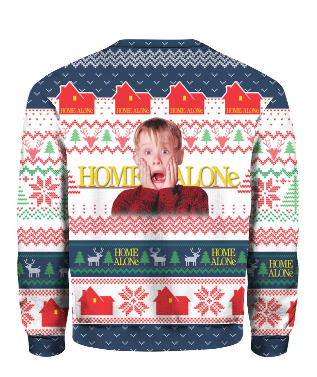 Home alone merry christmas ya filthy animal ugly christmas sweater - maria