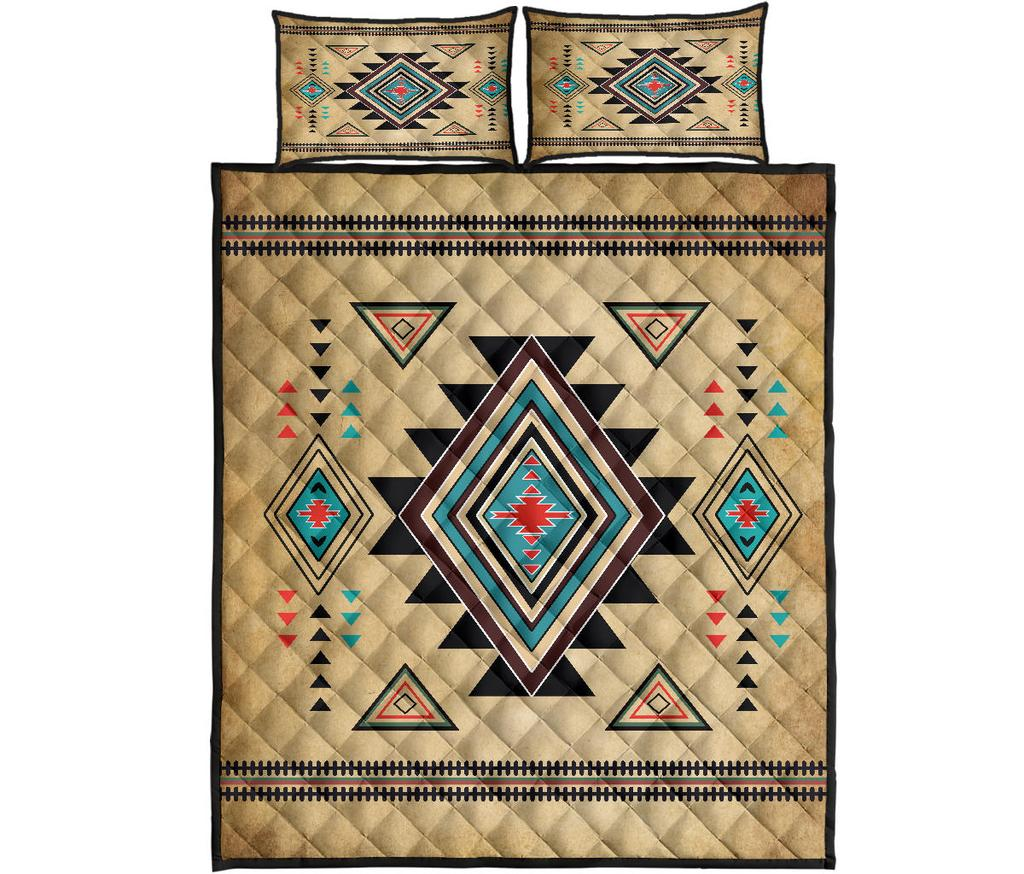 South west native american quilt - maria