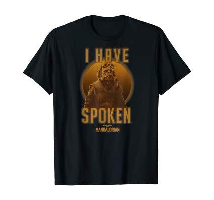 Star Wars The Mandalorian Kuiil I Have Spoken Circle shirt