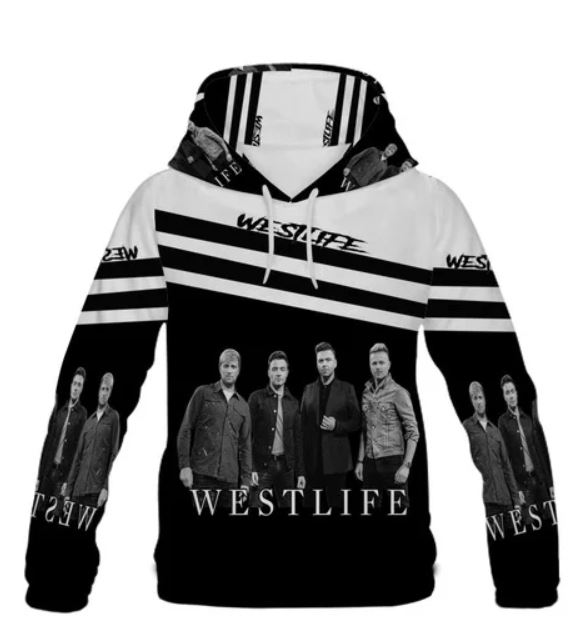 West Life 3d sweater over print- LIMITED BBS