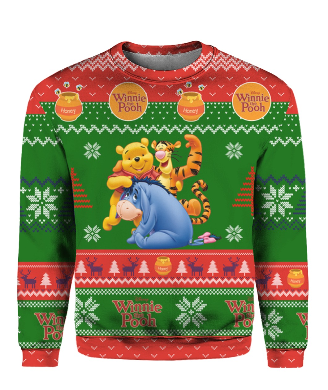 full printing ugly christmas sweater - maria