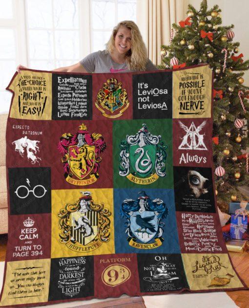 Harry Potter Quilt - mytea