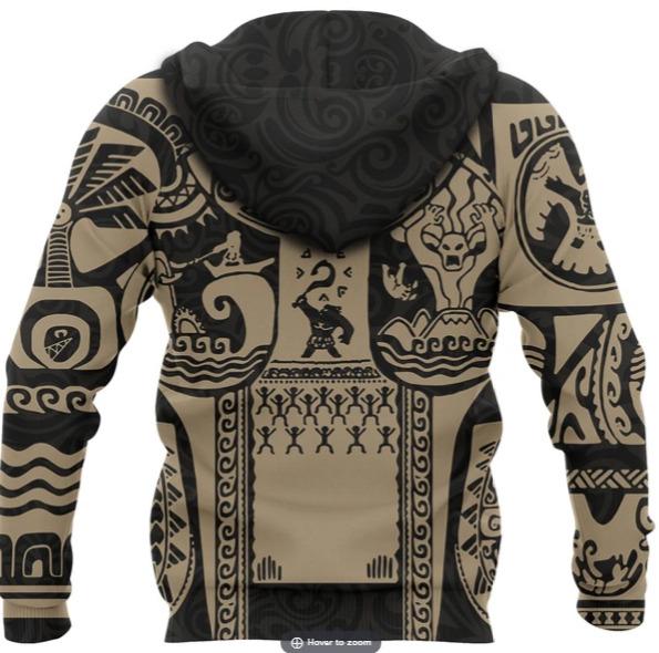 Maui Tattoo 3D Hoodie and T-shirt - Saleoff 0301204