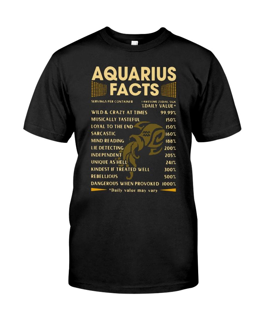 Aquarius Facts shirt, hoodie, tank top - tml