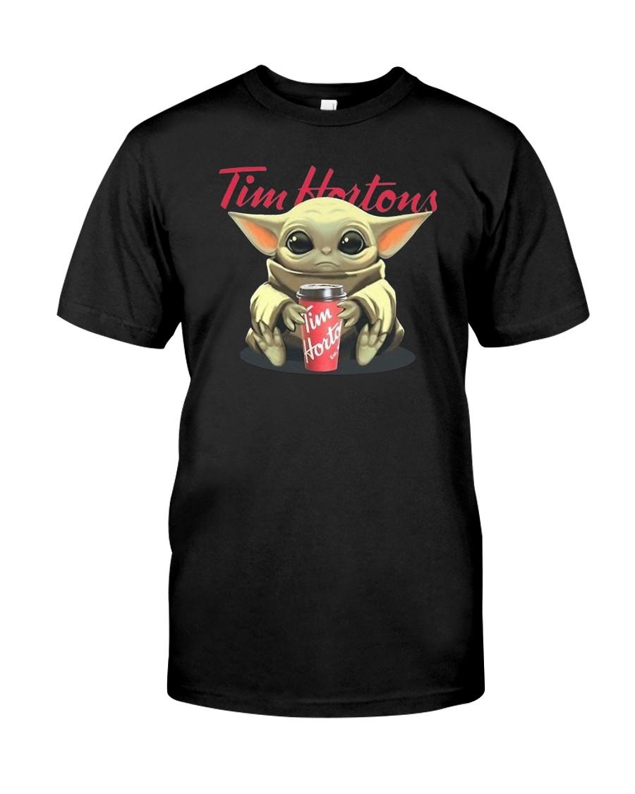 Baby Yoda Tim Hortons shirt, hoodie, tank top - tml
