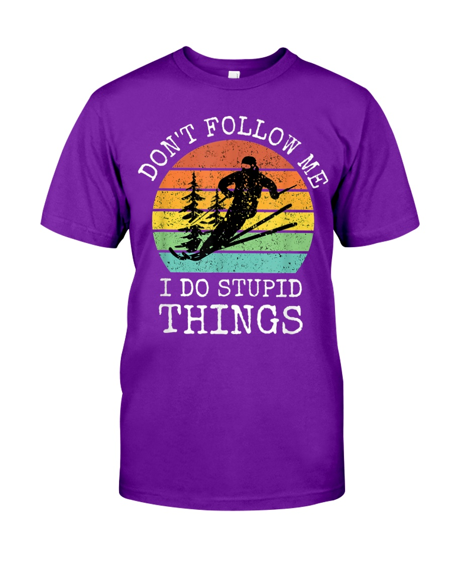 Vintage Don't follow me I do stupid things cool shirt, hoodie, tank top - tml