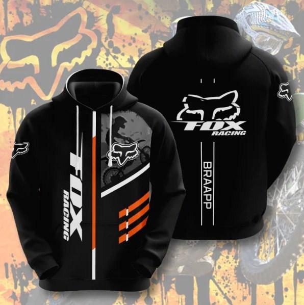 Fox Racing Braapp 3D T-shirt, Hoodie - Teasearch3D 250220