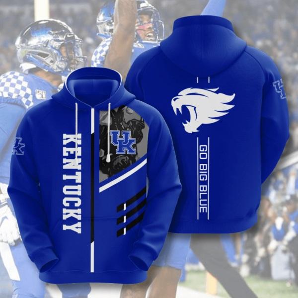 NCAA Kentucky Wildcats 3D Hoodie V2